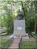TQ2886 : Karl Marx by Bill Nicholls