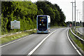 TG2006 : A11 Bus Lane, Welcome to Norwich by David Dixon
