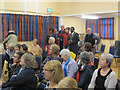 SP9211 : A Meeting inside the Nora Grace Hall, Tring by Chris Reynolds