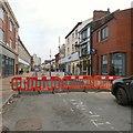 SJ8990 : De-pedestrianisation of Prince's Street by Gerald England