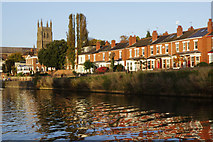 SO8454 : River Severn, Diglis by Stephen McKay