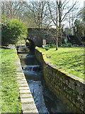 TQ2688 : Weirs on Mutton Brook by Robin Webster