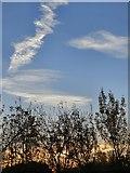 SJ9594 : November sunrise over Swain's Valley by Gerald England