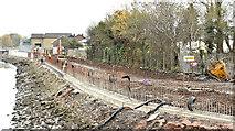 J3674 : Connswater path works, Belfast - November 2015(2) by Albert Bridge