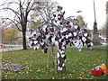 NT2573 : Poppyscotland's Tartan Heart Tree by M J Richardson