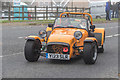 TQ2630 : Lotus at London to Brighton Veteran Car Run at Handcross, West Sussex by Christine Matthews