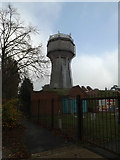 TM1645 : Elsmere Road Water Tower by Adrian Cable