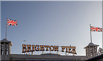 TQ3103 : The Pier, Brighton, East Sussex by Christine Matthews