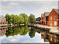 TG2308 : River Wensum, Norwich Riverside by David Dixon