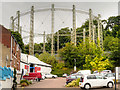 TG2408 : Gas Holder on Gas Hill by David Dixon