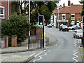 TG2309 : Norwich, Pedestrian Lights on Charlton Road by David Dixon