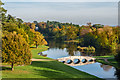 TQ0960 : The Lake, Painshill Park by Ian Capper