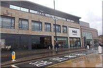 SE1633 : Broadway Centre - viewed from Lower Kirkgate by Betty Longbottom