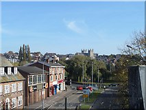 SX9192 : View across Exeter from St Thomas station by John Firth