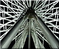 SK5905 : Close up of Leicester's 'wheel of light' by Mat Fascione