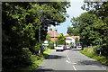 TG2916 : Wroxham, Norwich Road by David Dixon
