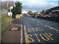 NZ0517 : Bus stop on Prospect Place (A688) by JThomas