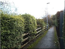 SE2534 : Ginnel from Cockshott Drive to Stanningley Road by Stephen Craven