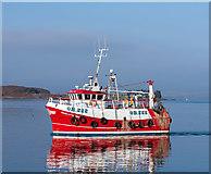 NM8529 : Charlotte Ann in Oban Bay by The Carlisle Kid