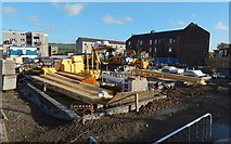 NS3980 : Construction on the Kippen Dairy site, Alexandria by Lairich Rig