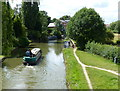 SP6459 : Narrowboat on the Grand Union Canal by Mat Fascione