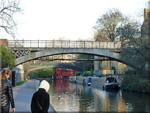 TQ2883 : Bridge 12, Regent's Canal by Robin Webster