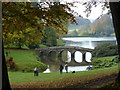 ST7733 : The Palladian bridge - Stourhead Gardens by Chris Allen