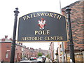 SD8901 : Failsworth Pole Sign by David Hillas