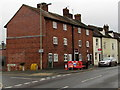 SO5174 : Three-storey houses, Lower Galdeford, Ludlow by Jaggery