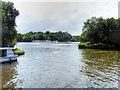 TG3215 : River Bure, Entrance to Salhouse Broad by David Dixon