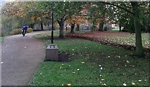 SE6250 : Path near Derwent K block by DS Pugh