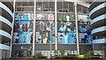 SJ8698 : Club honours billboard on the Etihad Stadium by Bradley Michael
