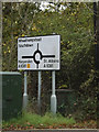 TL1313 : Roadsign on the B487 Redbourn Lane by Adrian Cable