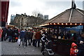 SJ8398 : Christmas Market, Albert Square by N Chadwick