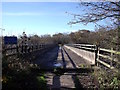 SK4821 : Footpath bridge over the M1 by Ian Calderwood