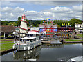 SO8071 : Stourport Lower Basin, Worcestershire by Roger  Kidd