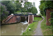 SP6165 : Buckby Lock No 8 on the Grand Union Canal by Mat Fascione