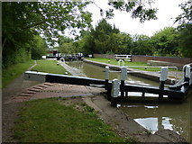 SP6165 : Buckby Lock No 9 on the Grand Union Canal by Mat Fascione