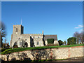 TL4238 : Great Chishill church by Robin Webster