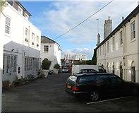 TQ3303 : Arundel Mews, Kemp Town, Brighton by Simon Carey