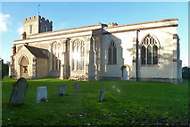 TL3852 : Harlton church by Robin Webster