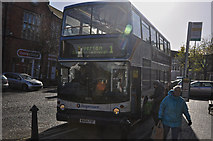 ST0207 : Cullompton : High Street Bus Stop by Lewis Clarke
