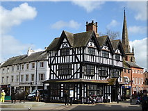 SO5140 : The Old House in Hereford by Rod Allday