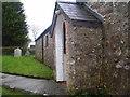 SN0904 : East Williamston - St Elidyr's Church Porch by welshbabe