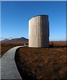 NC8842 : The Flows Lookout Tower, RSPB Forsinard, Sutherland by Claire Pegrum