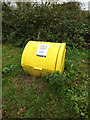 TM0532 : Grit Bin on East Lane by Adrian Cable