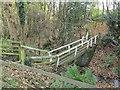 NZ1400 : Footbridge over Church Gill by Stephen Craven