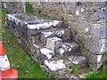 SN0402 : Carew Cheriton Church - old mounting block by welshbabe