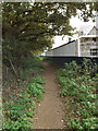 TM2446 : Footpath off Main Road by Adrian Cable
