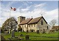SK8767 : All Saints' church, Eagle by Julian P Guffogg